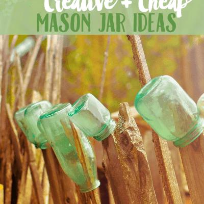 Creative Mason Jar Ideas
