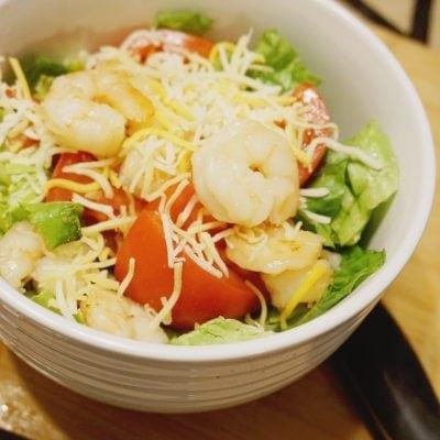 Bruschetta Shrimp Salad