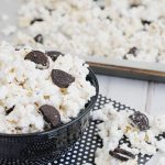 White Chocolate OREO Popcorn