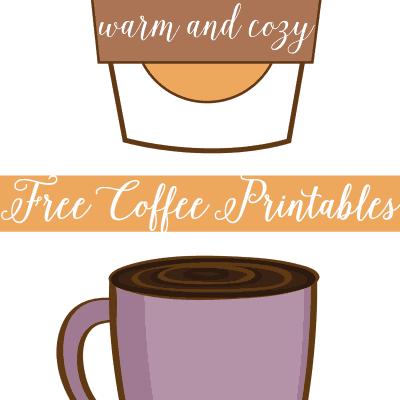 Free Coffee Printables