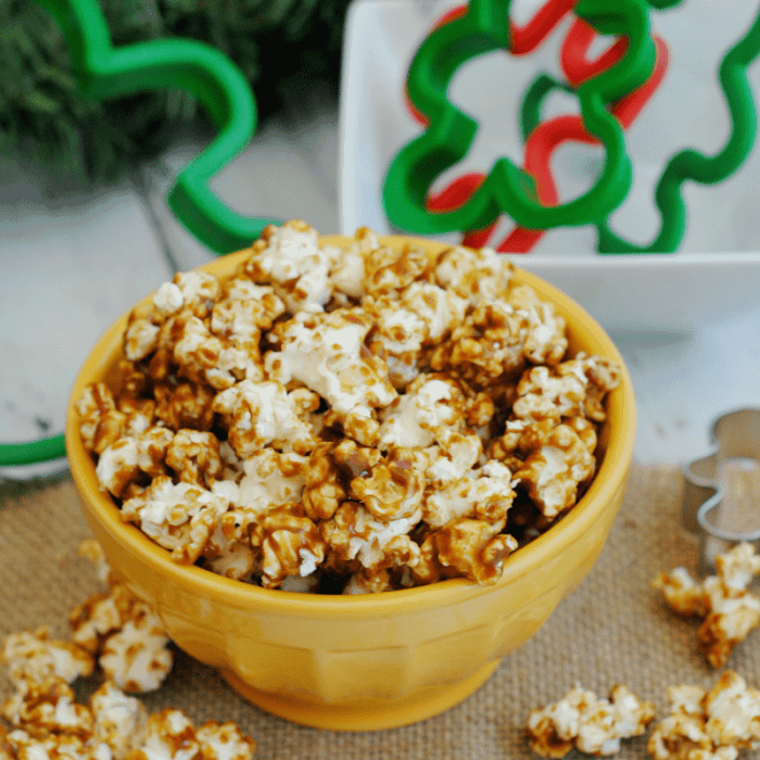 Gingerbread Popcorn Recipe