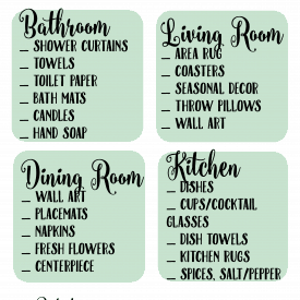Quarterly Cleaning Printables