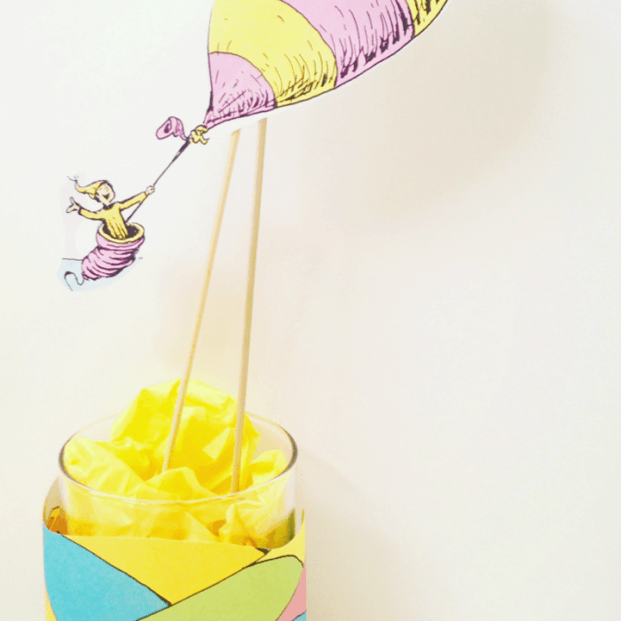 Dr. Seuss Day Craft: Oh, the Places You'll Go!