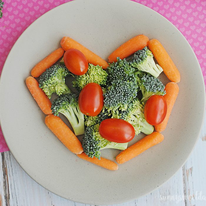 Vegetable Snack Plate