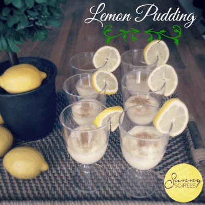 Spring Party Dessert: Lemon Pudding Recipe