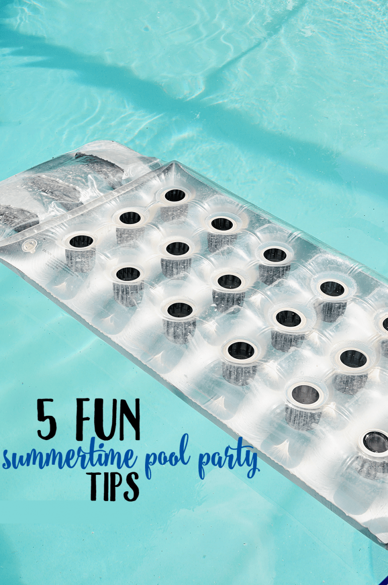 Summer Pool Party Tips