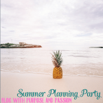 Summer Planning Party