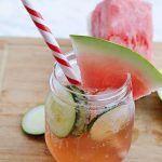Watermelon Whiskey Cocktail