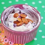 Almond Blueberry Yogurt