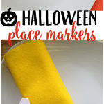Halloween Place Marker