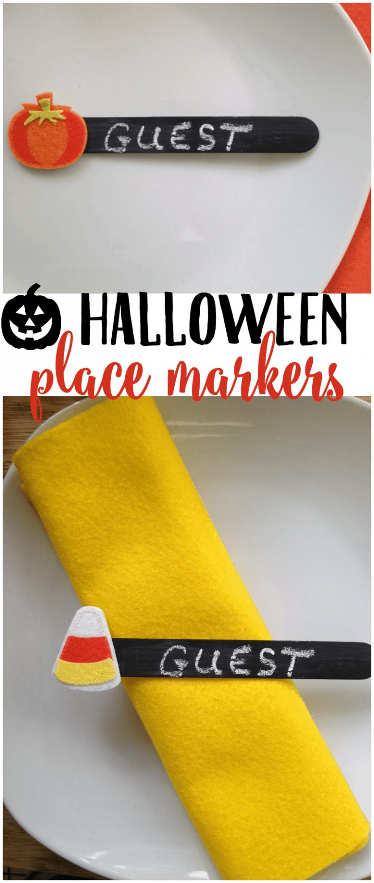 Halloween Place Marker