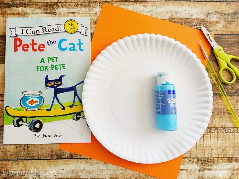 Pete the Cat Craft Idea