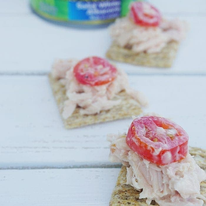 Caesar Tuna Dip Recipe