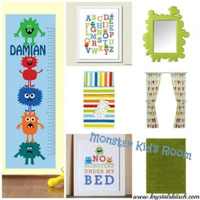 Monster Nursery & Kid's Room Inspiration