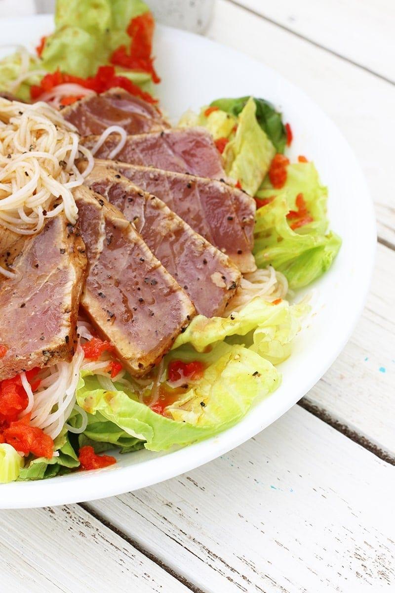 Asian Lettuce Cup Salad