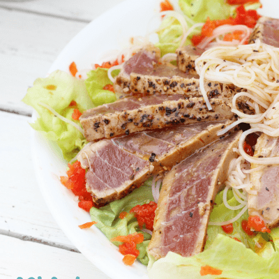 Asian Noodle Salad With organicgirl
