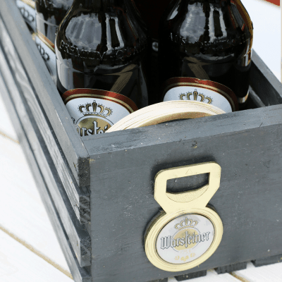 DIY Warsteiner Beer Party Caddy