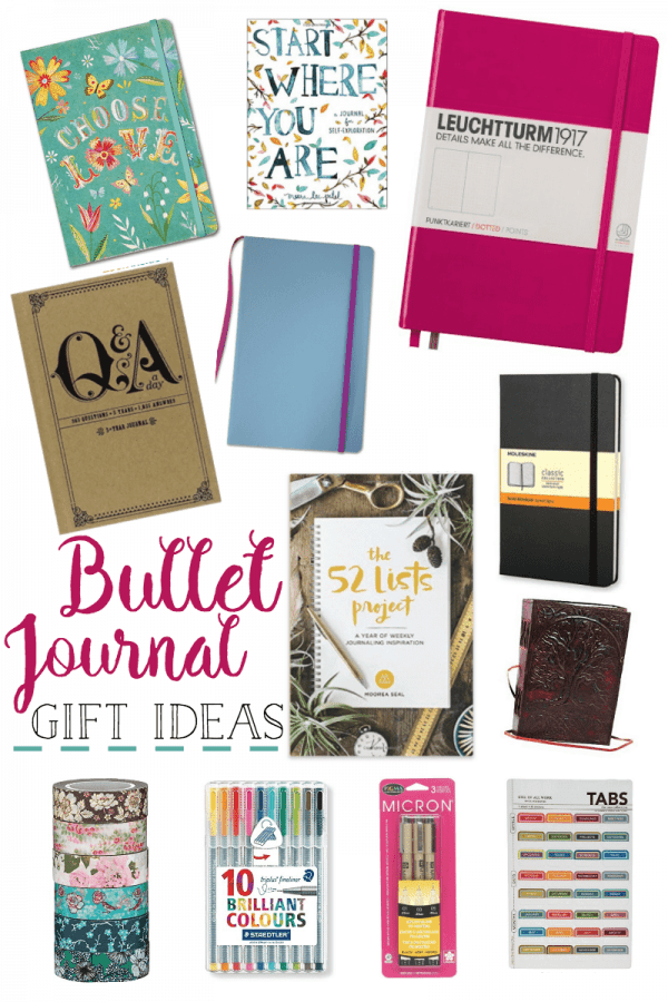 12 Essential Bullet Journal Gift Ideas For Journaling
