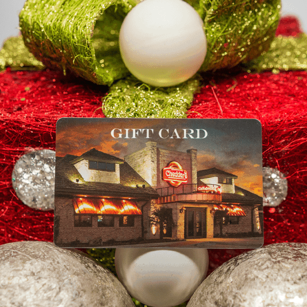 An Easy Gift Everyone Will Love: Cheddar's Scratch Kitchen Gift Cards