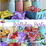 Colorful Candy Party With Surprise Balloons
