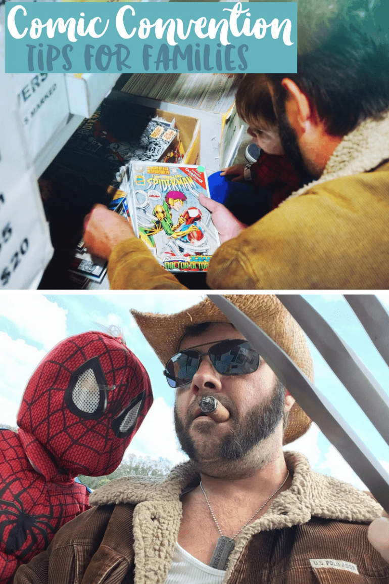 Comic Convention Tips For Families | MegaCon Tampa Bay Giveaway