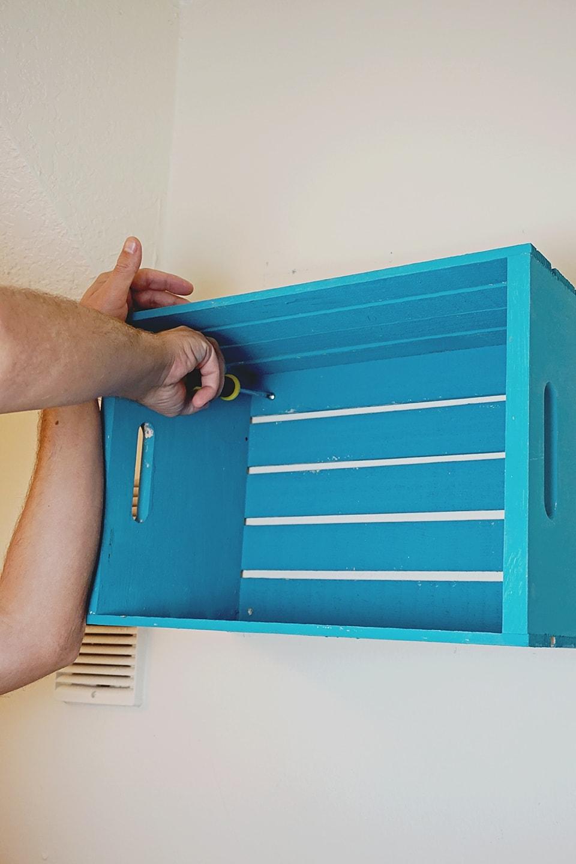 Crate Tutorial DIY