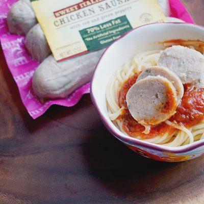 Easy Chicken Sausage Pasta