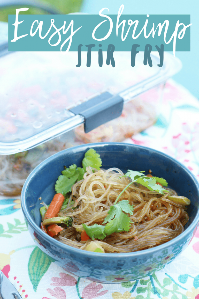 Organizing your Food Pantry | Easy Shrimp Stir Fry Recipe