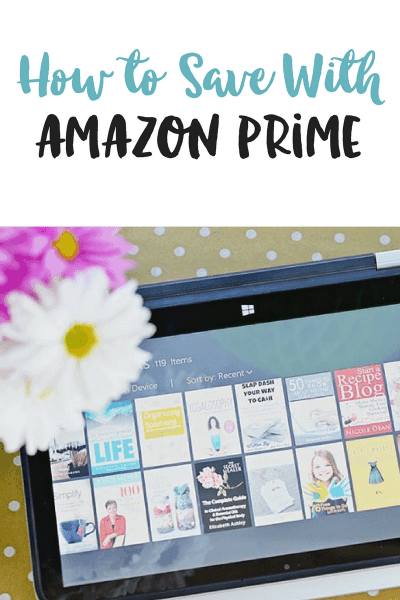 How to Save With Amazon Prime