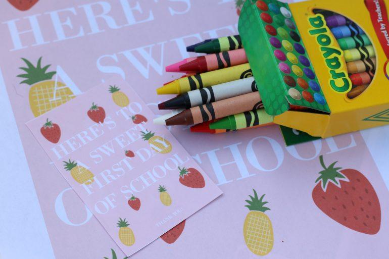 Back to School Teacher Gift Idea