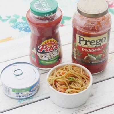 Vegetable Chicken Pasta