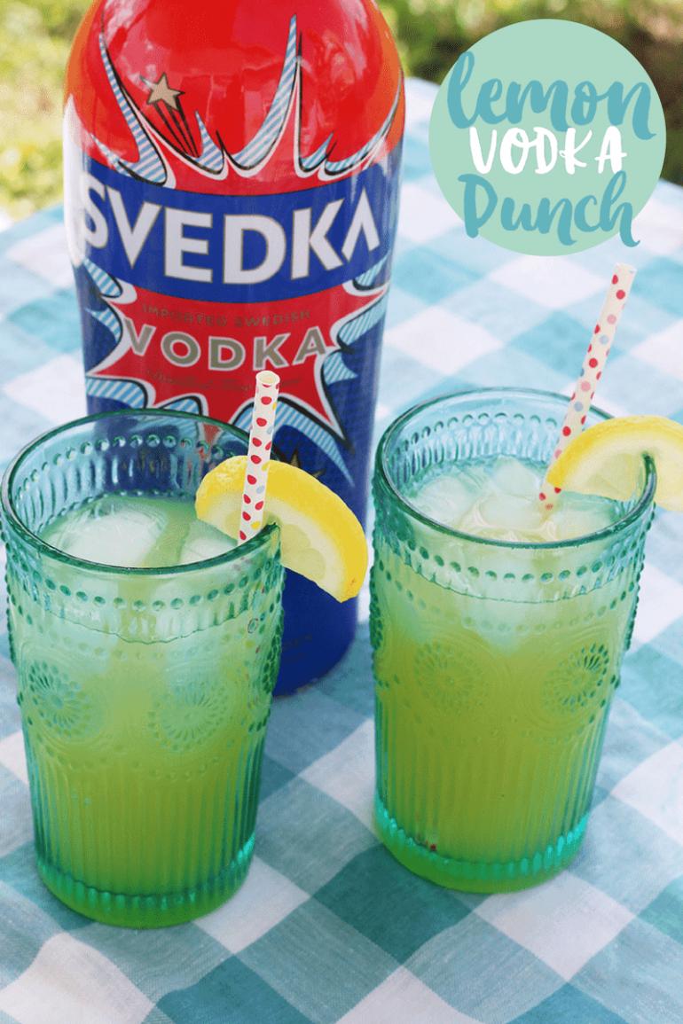 Lemon Vodka Punch   BabbleBoxx Garden and Grill