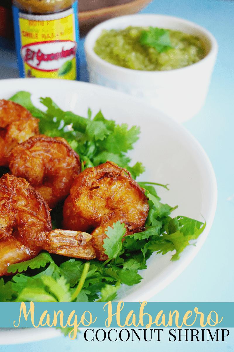 Mango Habanero Shrimp
