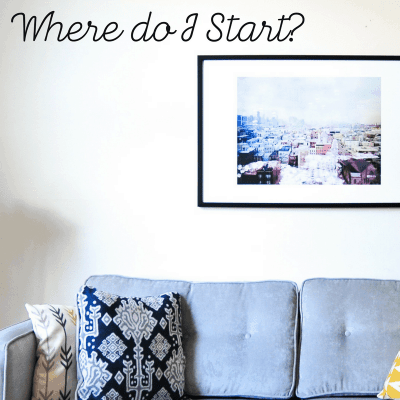 My Whole House is Disorganized…How do I get Organized?