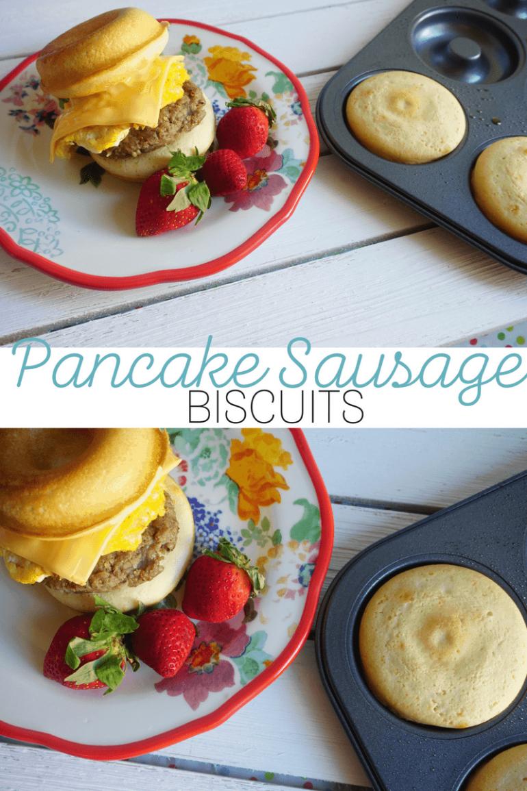Pancake Sausage Biscuit Recipe