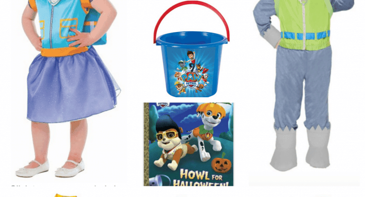 Paw Patrol Halloween Costume Ideas + Accessories