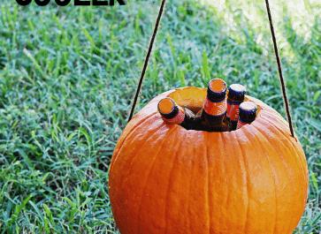 DIY Pumpkin Cooler