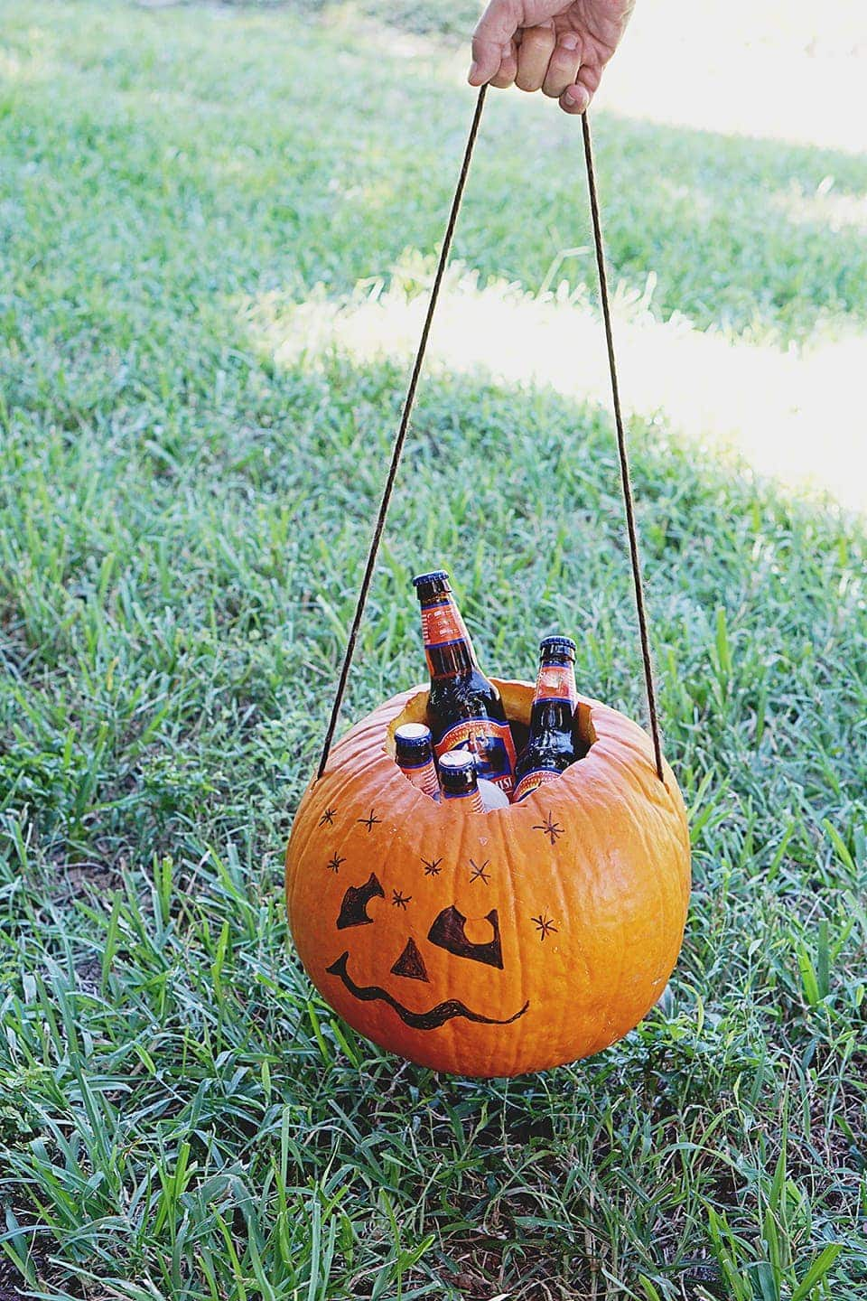 Pumpkin Cooler DIY