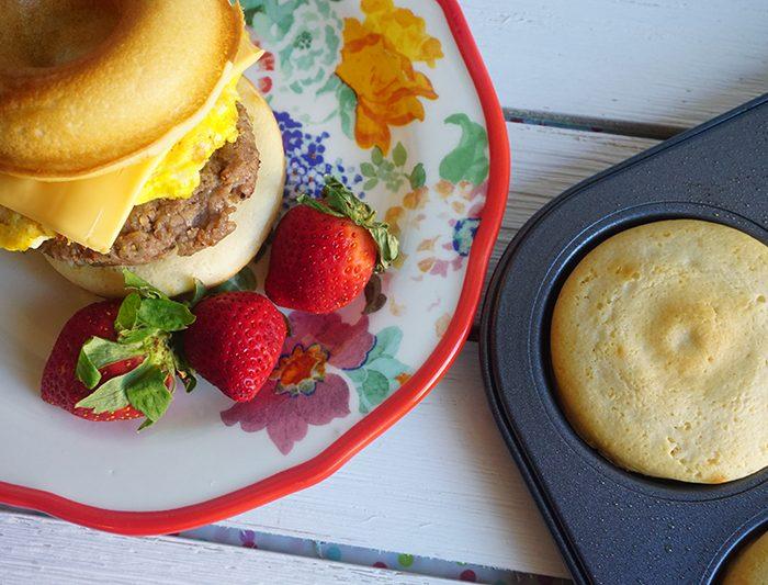 Pancake Sausage Biscuits