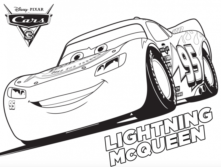 cars 3 coloring pages - Free Disney Cars Coloring Pages To Print