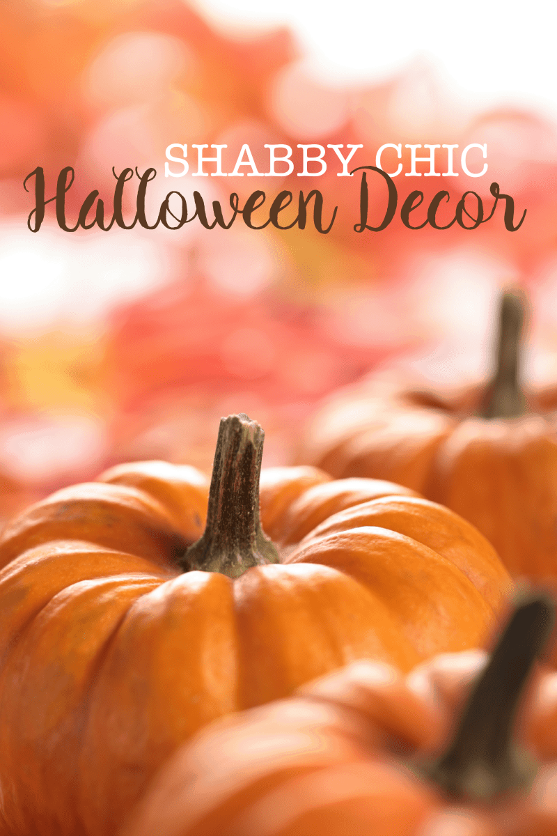 Shabby Chic Halloween Decor
