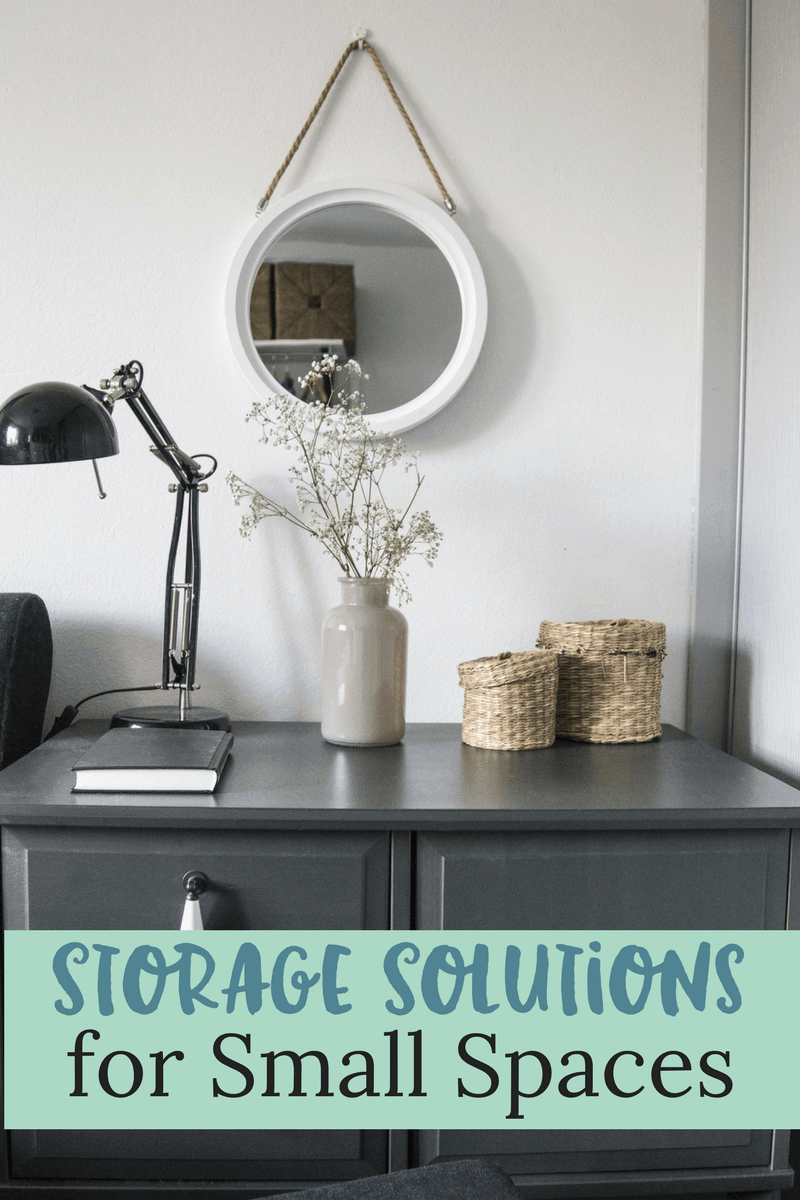 4 home storage solutions for small spaces sunny sweet days for Home storage solutions for small spaces