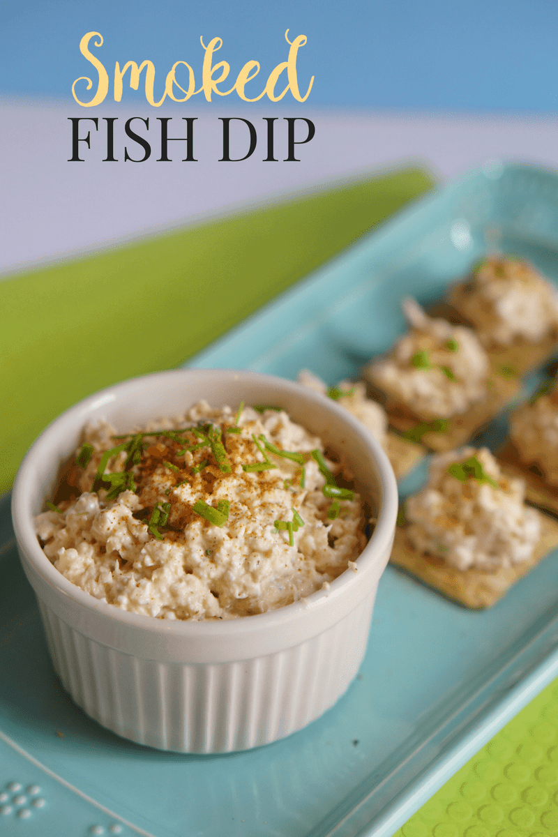 Make your own florida smoked fish dip for Smoked fish dip recipe