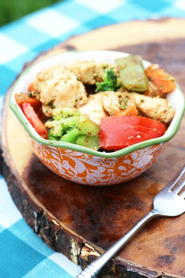 Coconut Chicken Stir Fry