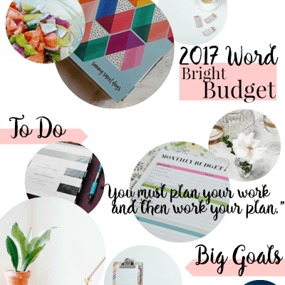 2017 Vision Board: Big Dreams + Goal Inspiration