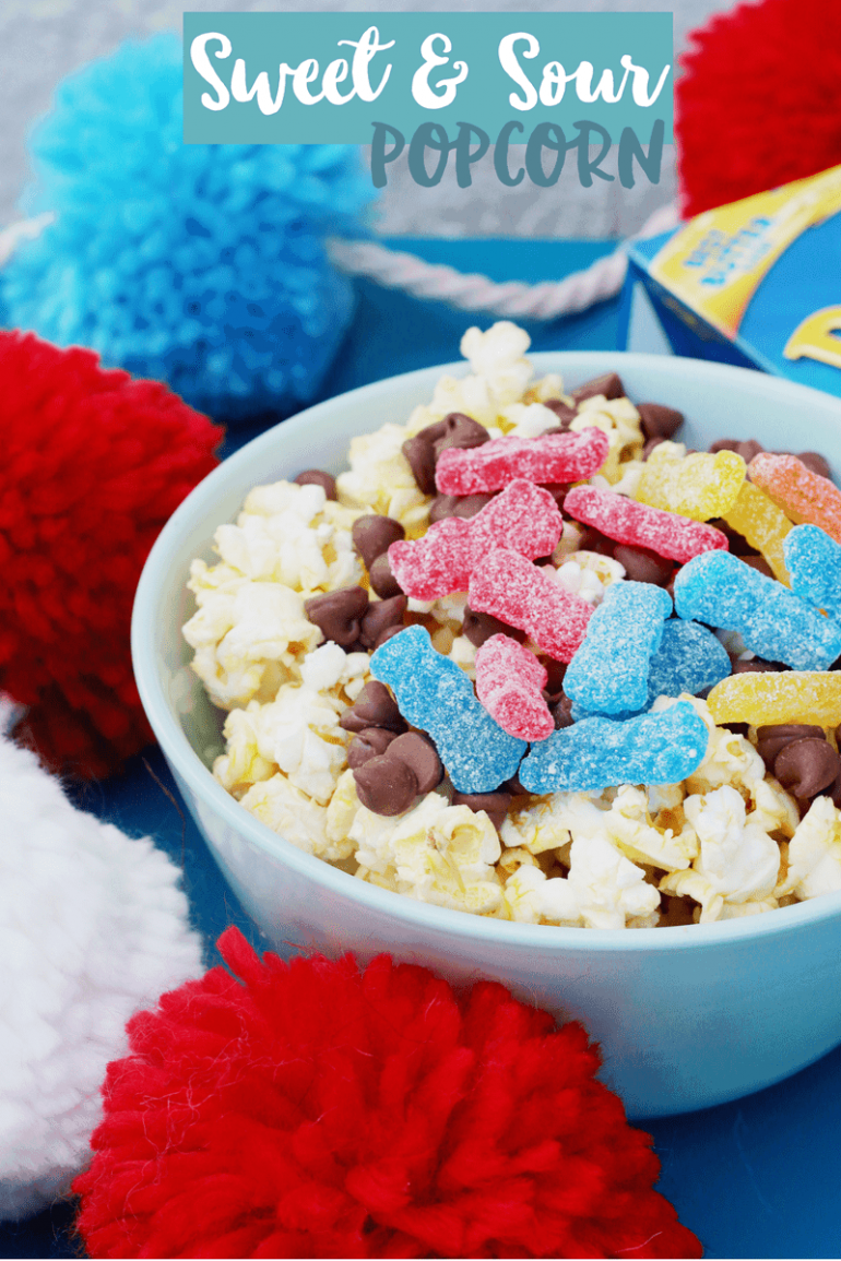 Captain Underpants Movie Night Party | Sweet and Sour Popcorn Recipe