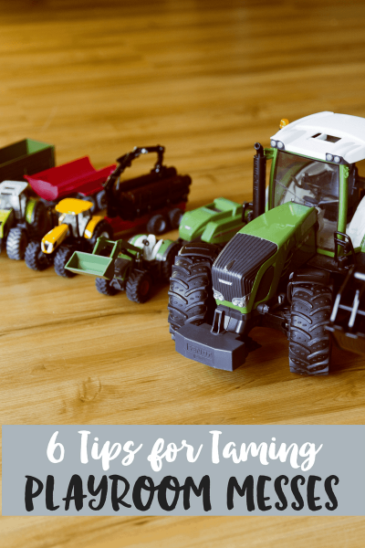 6 Tips for Taming Playroom Messes