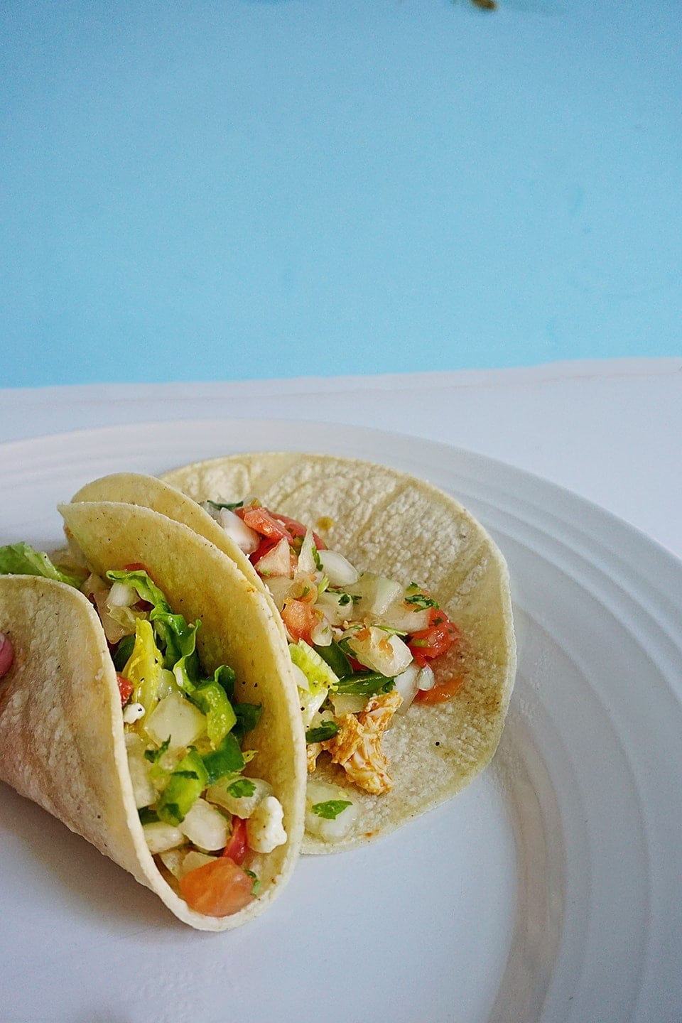 Terras Kitchen Buffalo Chicken Tacos