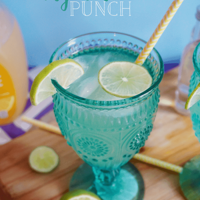Tangerine Vodka Punch