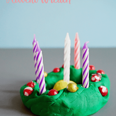 Creative DIY Dough Advent Wreath